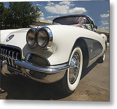 Metal Print featuring the photograph Let's Roll by Cheri Randolph