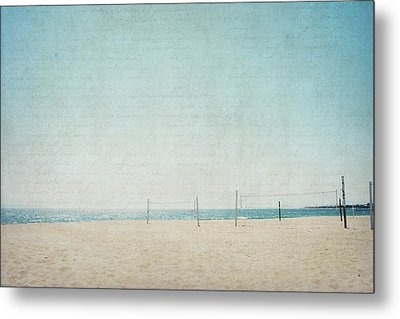 Metal Print featuring the photograph Letters From The Beach by Lisa Parrish