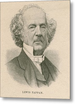Lewis Tappan 1788-1873, Wealthy Metal Print by Everett