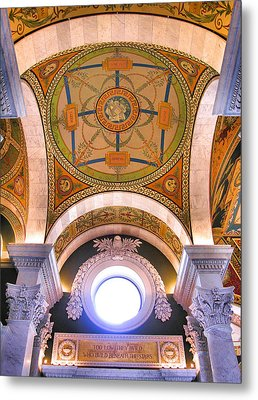 Library Of Congress I Metal Print by Steven Ainsworth