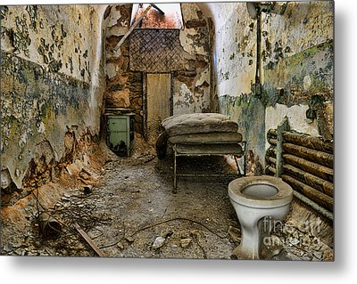 Life In Prison Metal Print by Paul Ward