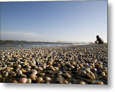 Life Is A Beach Metal Print by Snow White
