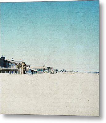 Metal Print featuring the photograph Letters From The Beach House - Square by Lisa Parrish