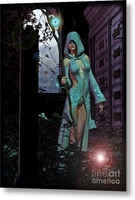 Life Will Spring Forth When The Winter Darkness Is Over Metal Print