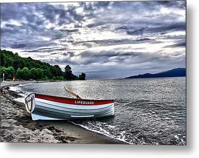 Metal Print featuring the photograph Lifeboat by Scott Holmes