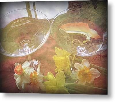 Metal Print featuring the photograph Life's Simple Pleasures by Kay Novy