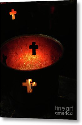 Light A Candle Metal Print by Joe Jake Pratt
