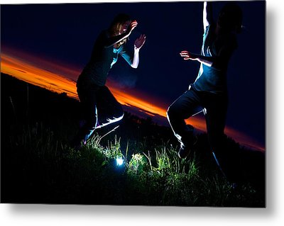 Light Dancers 1 Metal Print