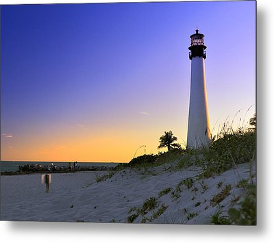 Light House Metal Print by Andres LaBrada