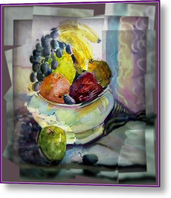 Light Lunch Metal Print by Mindy Newman