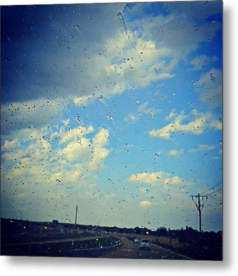 Light Showers In June... #instadroid Metal Print by Kel Hill