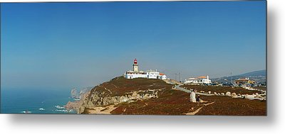 Lighthouse At Cabo Da Roca Metal Print by Luis Esteves
