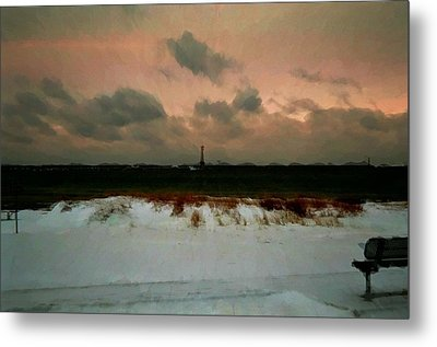 Lighthouse Beach  Metal Print by Ritter Photography And Fine Art Images