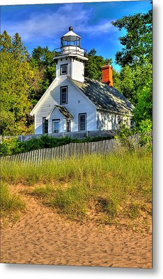 Metal Print featuring the photograph Lighthouse Home by Coby Cooper