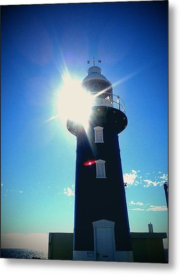 Metal Print featuring the photograph Lighthouse In The Sunlight by Roberto Gagliardi