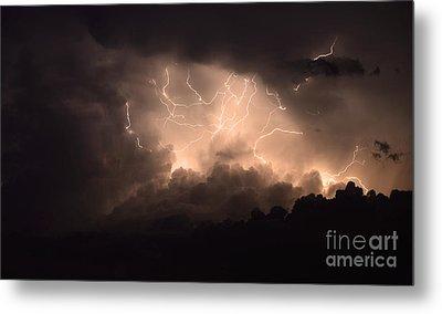 Lightning Metal Print by Bob Christopher