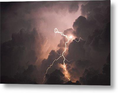 Lightning Man Metal Print by Paul Madura