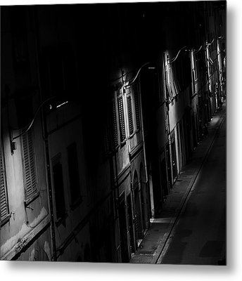 Lights In The Night Metal Print
