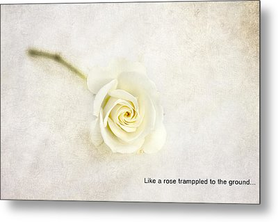 Like A Rose... Metal Print