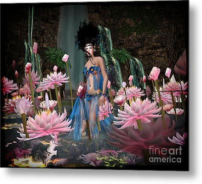 Lillies Metal Print