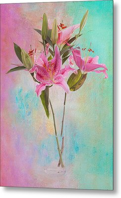 Lily 322a Metal Print by James Bethanis