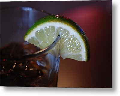 Lime Time Metal Print