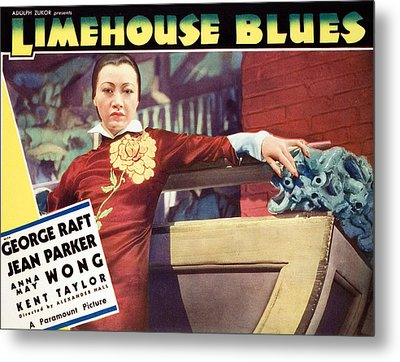 Limehouse Blues, Anna May Wong, 1934 Metal Print by Everett