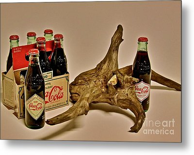 Metal Print featuring the photograph Limited Edition Coke by Joe Finney