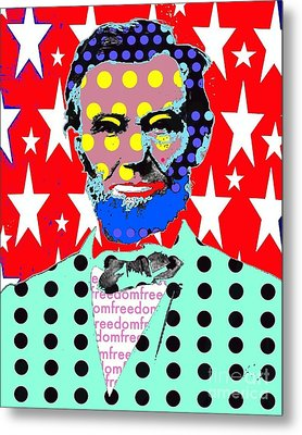 Lincoln Metal Print by Ricky Sencion