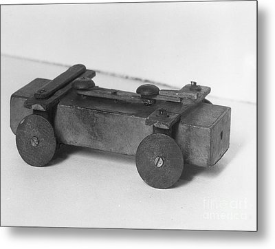 Lincoln Toy Wagon Metal Print by Granger