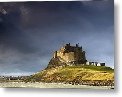 Lindisfarne Castle On A Volcanic Mound Metal Print by John Short
