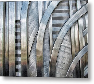 Metal Print featuring the photograph Lines And Curves by Tammy Espino