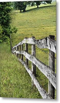 Lines Metal Print by JC Findley