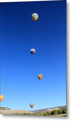 Lining The Sky Metal Print by Marta Alfred