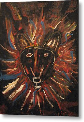 Lion Of The Tribe Of Judea Metal Print by Kristen Pagliaro