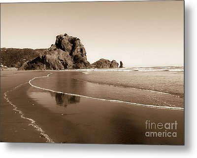 Lion Rock Metal Print