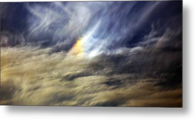 Metal Print featuring the photograph Liquid Sky by Sandro Rossi