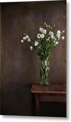 Lisianthus Flowers Metal Print by Paul Grand Image