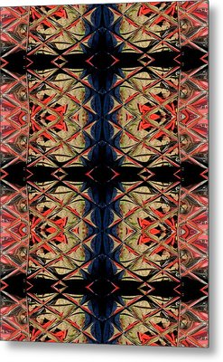 Lit0911001009 Metal Print by Tres Folia