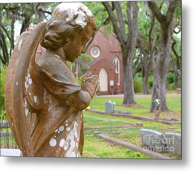 Metal Print featuring the photograph Little Angel by Jeanne  Woods
