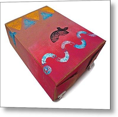 Little Big Horn Box Metal Print by Charles Stuart