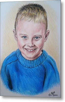 Little Boy Commissions Metal Print by Andrew Read