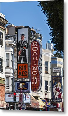 Little Italy  Metal Print by Anthony Citro