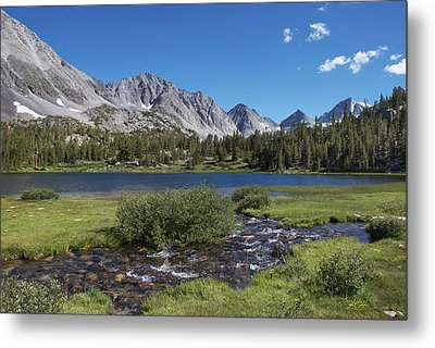 Little Lakes Valley Metal Print