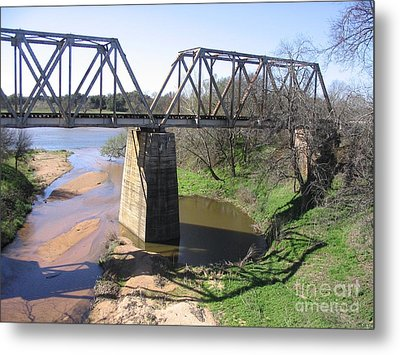 Little Llano Creek Metal Print by Mark Robbins