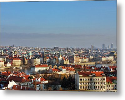 Little Mother Prague Metal Print by Christine Till