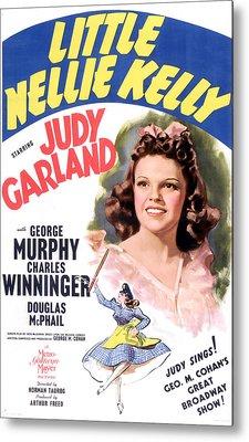Little Nellie Kelly, Judy Garland, 1940 Metal Print by Everett