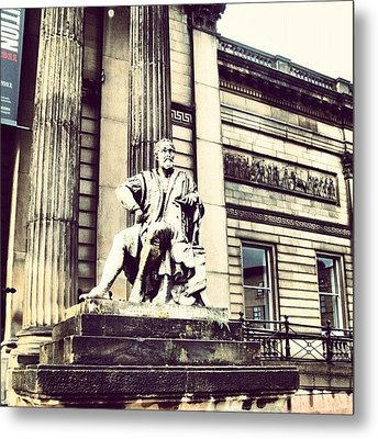 #liverpool #museum #museums #guy #stons Metal Print