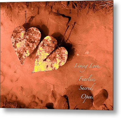 Living Love Metal Print by Lucy West