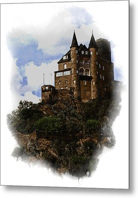 Living On The Rhine Metal Print by Cecil Fuselier